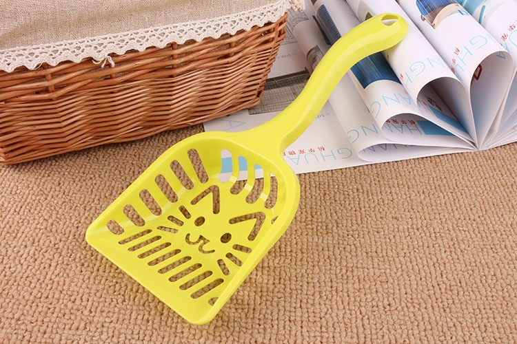 New Pet Products Shovel Cat Litter Plastic Scoop Cat Sand Cleaning Dog Food Spoons Cat sand shovel Pet Supplies PH45 (4)