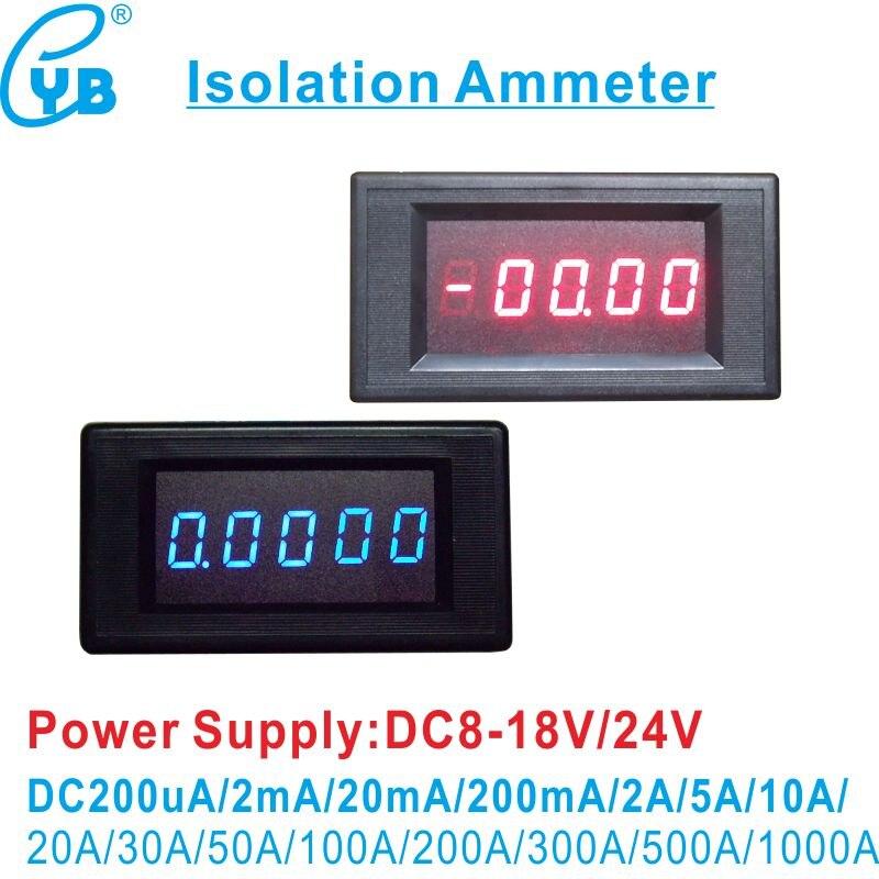 Measurement & Analysis Instruments Dc 4.5-30v 0-50a Dual Led Digital Voltmeter Volt Meter Ammeter Voltage Amp Power Meter 12v Elegant Appearance