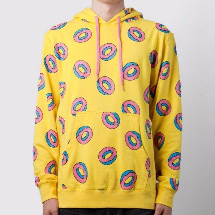 Got 7 Sweatshirt womens pizza hoodies and sweatshirts 2016 Donuts Printed BTS Bangtan Boys Sportswear