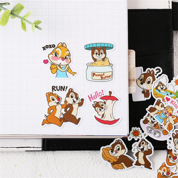 38 PCS Anime Squirrel brothers Paper Stickers Crafts And Scrapbooking stickers kids toys book Decorative sticker DIY Stationery