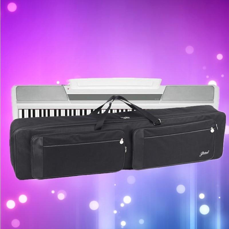 140*46*17 Cm Professionelle Tragbare Langlebig 88 Tastatur Tasche Elektrische Klavier Orgel Rucksack Synthesizer Weiche Gig Fall Wasserdicht üBereinstimmung In Farbe