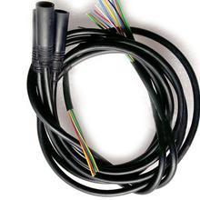 Детали для электровелосипеда Ebike удлиняющий кабель пара 9 контактов водонепроницаемый штекер мужской/женский удлиненный кабельный разъем для мотора Bafang AKM