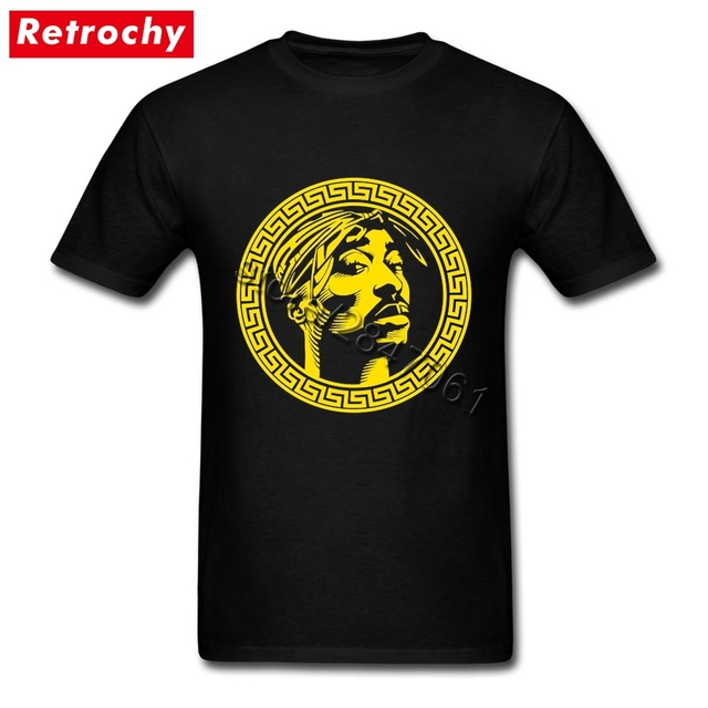 a2ac06a94 Plus Size Black Tupac Shakur T Shirt Men Cool Brand Short Sleeve Couple 2Pac  Shirts Rapper Matching Sale Price Official Apparel