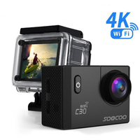 Anytek SOOCOO C30 Action 4K Sports Camera NTK96660 Waterproof Wifi Gyro 70 170 Degrees Adjustable