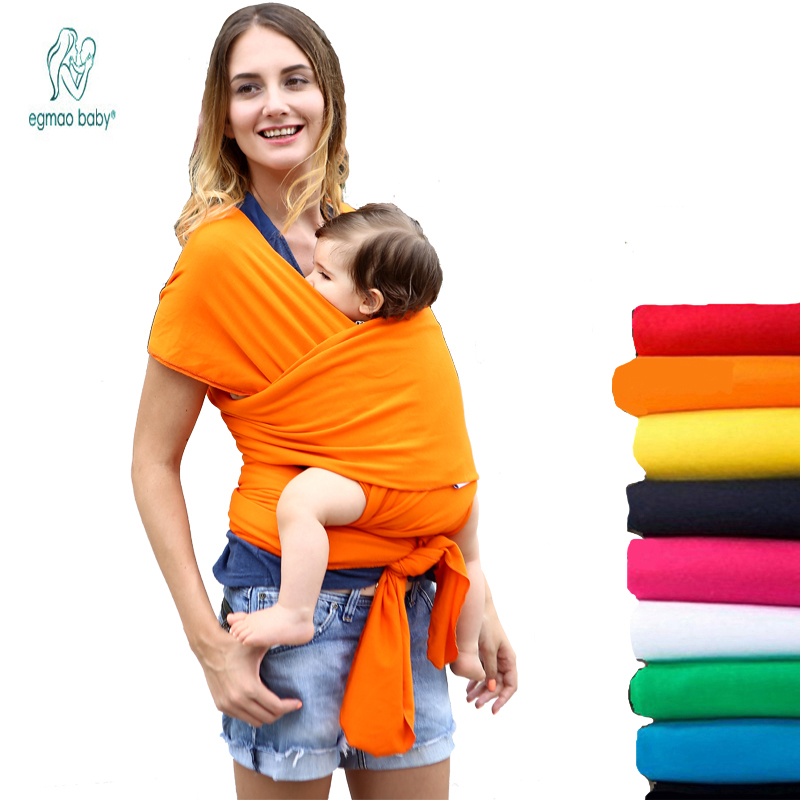 19 Colors Baby Sling Ergonomic Baby Carrier Cover Backpack Breathable Hipseat Nursing Cover Cotton Soft Baby Wrap 0-3 Years