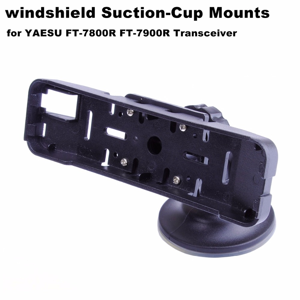 Mini Car Windshield Suction-Cup Mounts For YAESU FT-7800R FT-7900R Transceiver