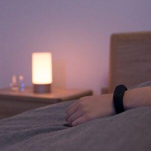 Image 2 - [النسخة الإنجليزية] شاومي Mijia LED ضوء الذكية داخلي ليلة ضوء السرير مصباح التحكم عن بعد اللمس الذكية App التحكم