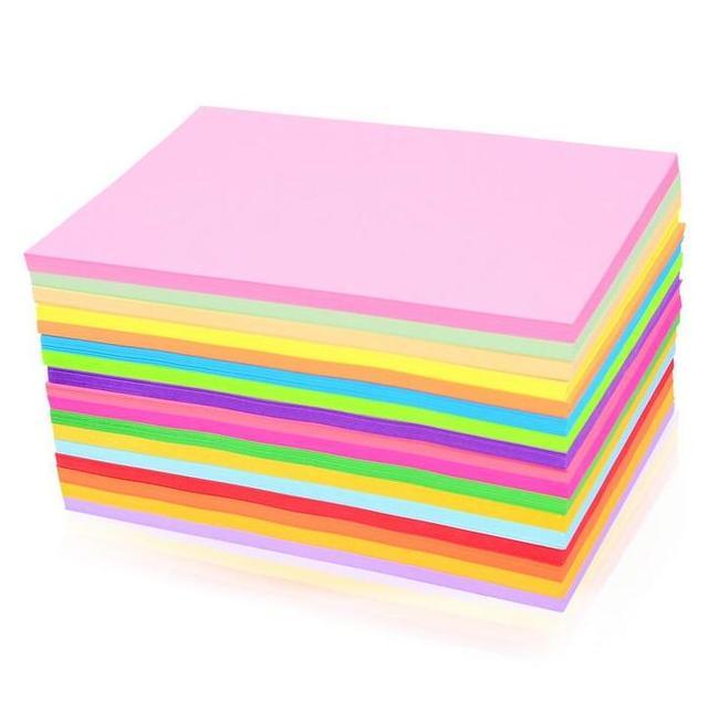 a4 160gsm bunte papier handwerk 10 verschiedenen farben scrapbooking papier f r diy 50 blatt lot. Black Bedroom Furniture Sets. Home Design Ideas