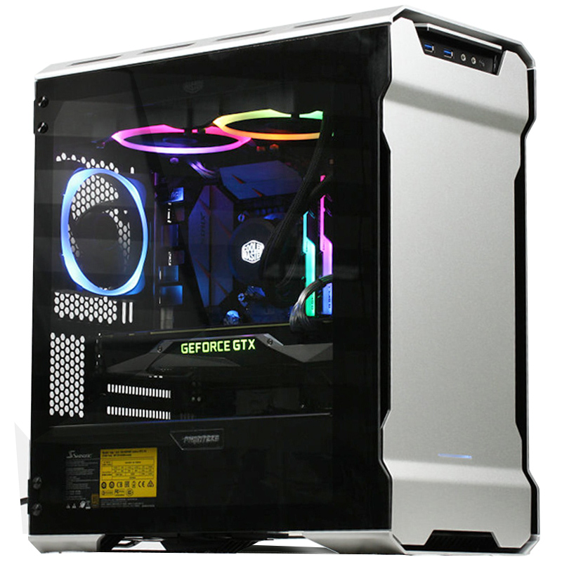 US $162 38 6% OFF|PHANTEKS 314ETG MATX RGB computer case (supports 240 &  280 water cooling / RGB light control)-in Computer Cases & Towers from