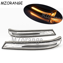 MZORANGE 2Pcs LED Left and Right Car Rearview Mirror Light For Hyundai Mistra 2013 Side Turn Signal