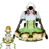 Love Live! Flower Bouquet Hanayo Koizumi Awakening Dress Cosplay Costume All Size COSPLAYONSEN