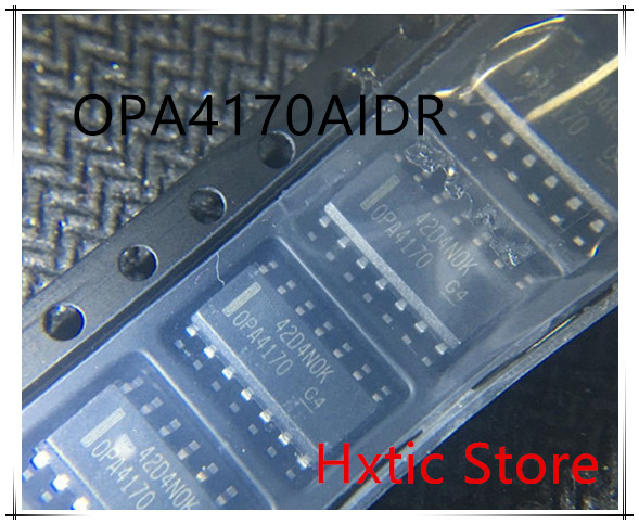 NEW 10PCS LOT OPA4170AID OPA4170AIDR SOIC 14 IC