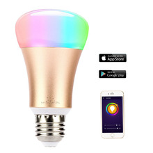 DIY Wifi LED Bulb E27 5W AC110-240V Lampada LED Dimmable Bulb Lamp Remote Control LED Spot Light For iPhone Android Phones APP