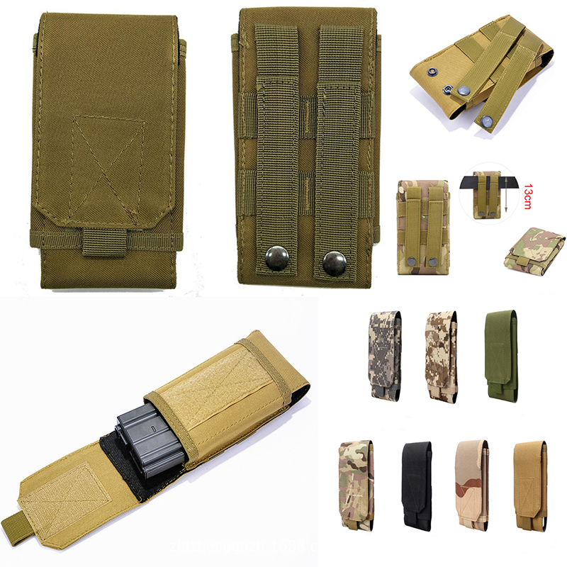 Tactical Phone Pouch Belt Hook Holster Waist Case For DOOGEE Y8 Plus Y8C N10 S60 S40 S90 Pro BL5500 S55 Lite BL9000 S50 S30 T5(China)