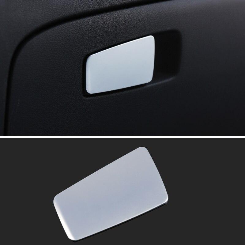 Auto Co-Pilota di Stoccaggio Copertura Della Maniglia Copilota di Immagazzinaggio Chiusura Mano Paillettes Sticker Per LHD Hyundai Tucson 2015 2016 2017 accessori