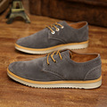 New Style Leather Casual Shoes Men 2017 Spring Autumn Brogue Shoes For Men Breathable Outdoor Oxfords Shoes apatos Hombre B65