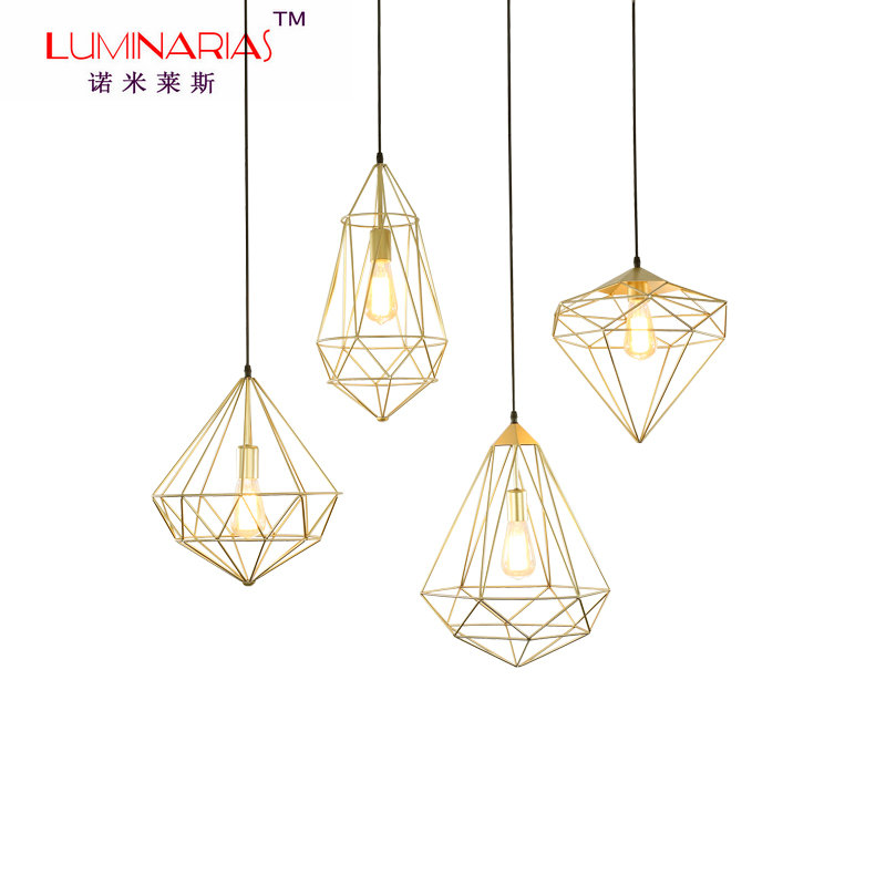 American Country Vintage Pendant Lamp Bird Cage Pendant Light Black Gold Dinning Room Light Cafe bar lighting AC 110V 220V vintage birdcage crystal chandelier lighting black rustic bird cage pendant hanging light chandeliers lamp for dining room bar