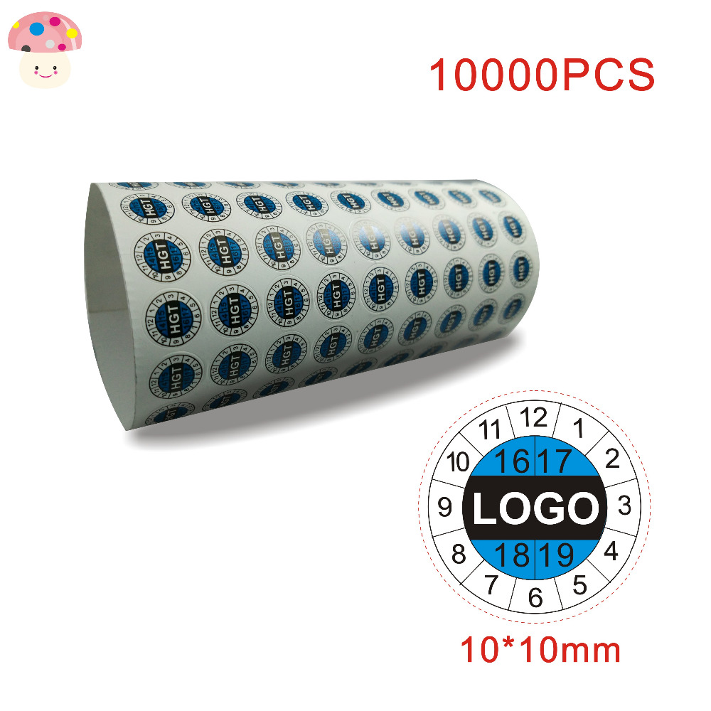 Free shipping design custom fragile paper labels warranty sticker void label printing 1010mm