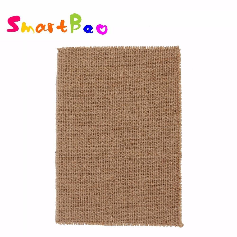 A5 Linen Vintage Notebook Soft Cover Note Book Brown Color Diario Vintage libretas y cuadernos vintage 20*14cm 130 Sheets Paper