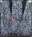 O envio gratuito de venda quente colete 4 pcs (vest + ncktie + bowtie + lenço)