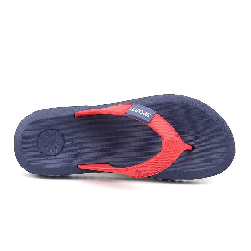 Chaussures Été Confortable grey En Flops Pantoufles Flip blue Caoutchouc De Nouveau Massage Plage Plat Hommes Style 2018 Black Respirant Souple RaEpqzwxY