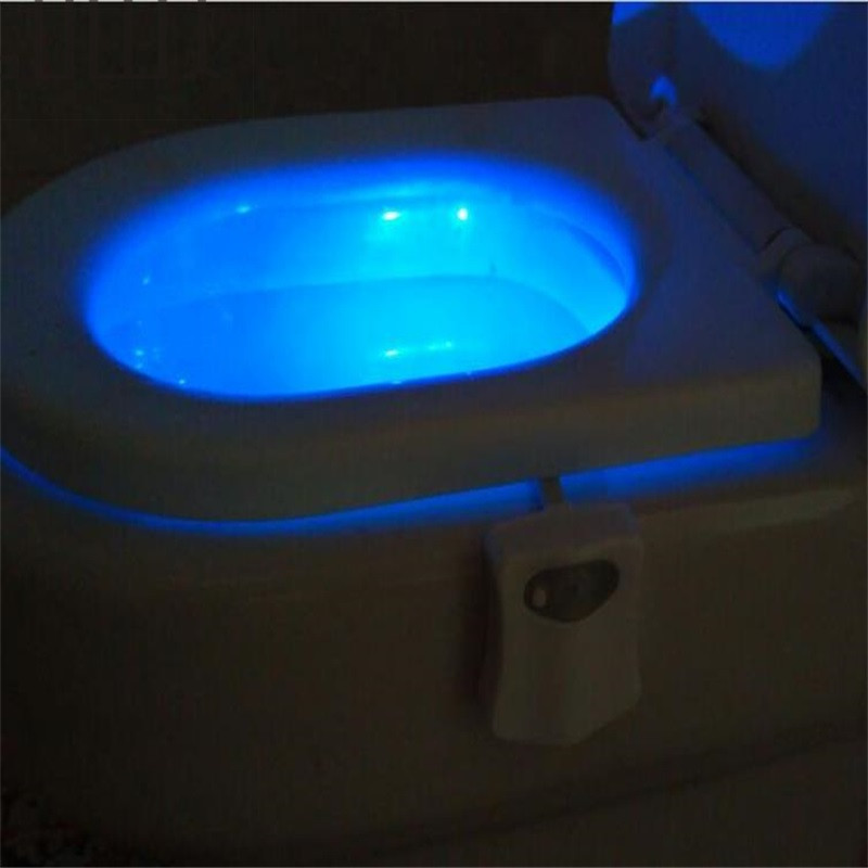 Motion Activated Toilet Nightlight human body induction lamp hotel nightlife Motion Activated Toilet Nightlight Only activates