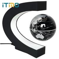 LEDแม่เหล็กลอยแสงคืนห้องนอนแสงโคมไฟตกแต่งบ้านต้านแรงโน้มถ่วงแปลก/แสงวิเศษสหภาพยุโรป/US