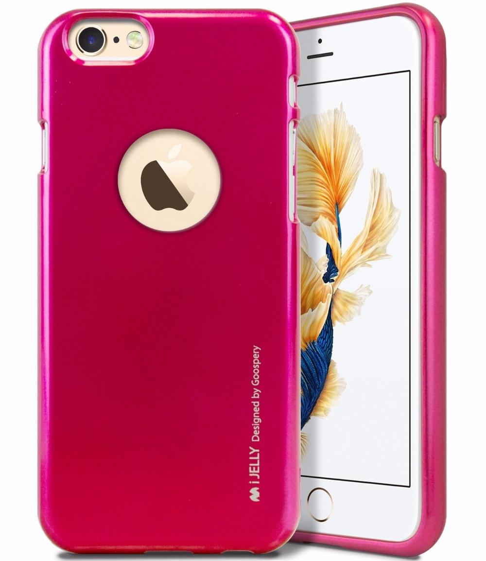 Mercury Goospery I Jelly Tpu Bumper Case Slim Metallic Logo Hole Cut Iphone X Hybrid Dream Red Difference In Color