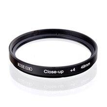 4 CLOSE-UP-FILTER Macro Digital-Cameras 49mm-Lens RISE All-Dslr UK