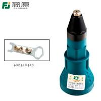 FUJIWARA Rivet Nut Tool Adaptor Electric Rivet Nut Gun Riveting Tool Cordless Drill Adapter Rivet Nut
