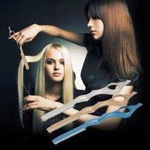 Manual de corte de pelo adelgazamiento de afeitar cuchillo afeitado peluquería estilista de peluquería top calidad