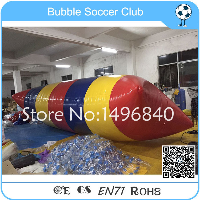 Free Shipping Factory Supply 5x2m Inflatable Water Blob Inflatable Jump ,PVC Water Pillow, Inflatable Blob Jumping free shipping 7 3m inflatable water pillow inflatable water blob jump bag inflatable trampoline free pump repair kits