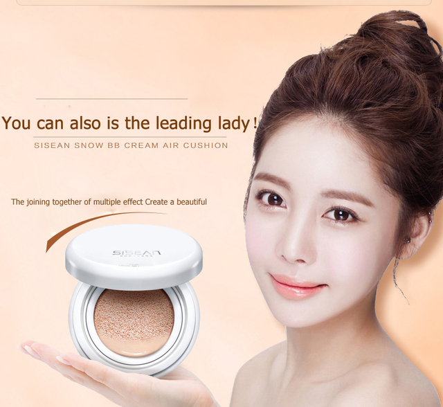 BB cream concealer BB cream oil-free air cushion Whitening and moisturizing BB cream & CC frost date party cosmetic work