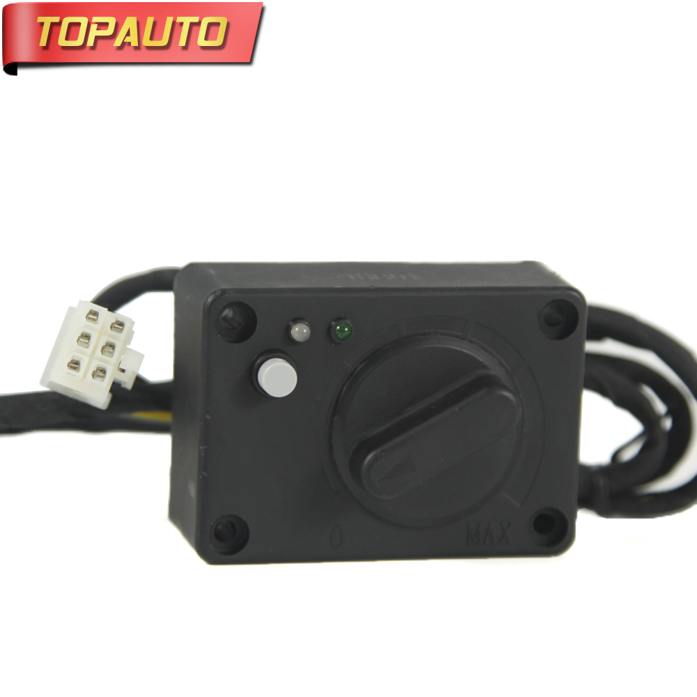 TopAuto Control Switch Plug 6 lines For Air Diesel Parking Heater for Webasto Belief Heater for Cars Truck Caravan Accessories