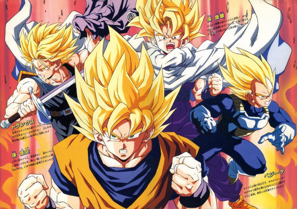 p0420 dragon ball z poster for meeting room 40x60cm
