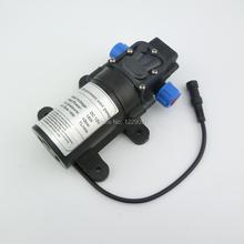 Купить с кэшбэком Return valve type 8bar 15W 1L/min Mini DC Diaphragm  battery powered High pressure electric mist  Pump for cooling