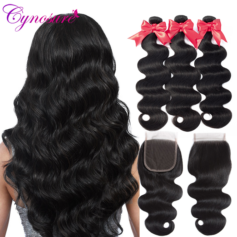 Punctual Sapphire Hair Peruvian Hair Body Wave 4*4 Lace Closure 100% Human Hair Natural Color Remy Hair Free/middle/three Part Closure Grade Products According To Quality Hair Extensions & Wigs