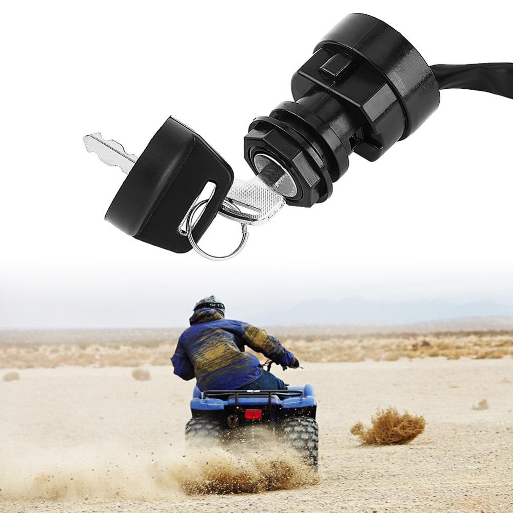 2 Pin Motorcycle Motocicleta ATV Ignition Key Switch For Yamaha YFM 350 Bruin 660R 700R Raptor 350X Warrior