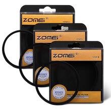 ZOMEI 52/58/67/72/77/82mm star efekt gwiazda obiektyw 4 + 6 + 8 szpiczasty etui na aparat fotograficzny dla aparat Canon Nikon DSLR