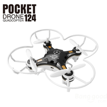 FQ FQ777 124 Pocket Drone 4CH 6Axis Gyro Quadcopter with Switchable Controller RTF