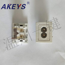 10 PCS AC-025A AC power outlet multi-function industrial socket switch 8-word plum eight-character socket 10A white jtron dc power outlet switch socket black 10 pcs