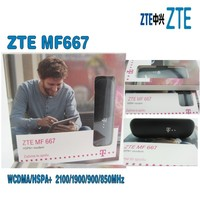 Lot of 50pcs ZTE MF667 USB Modem - 21.6Mbps HSPA ZTE MF667 Internet Key Dongle,DHL shipping