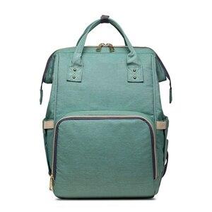 Image 3 - MOONBIFFY, модная сумка для подгузников для мам и мам, Большая вместительная детская сумка, рюкзак для путешествий, дизайнерская сумка для ухода за ребенком