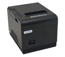 De alta calidad de impresión de 80mm impresora térmica de recibos de billetes Pequeños XP-Q200 impresora de código de barras POS impresora de corte automático shopPrinter