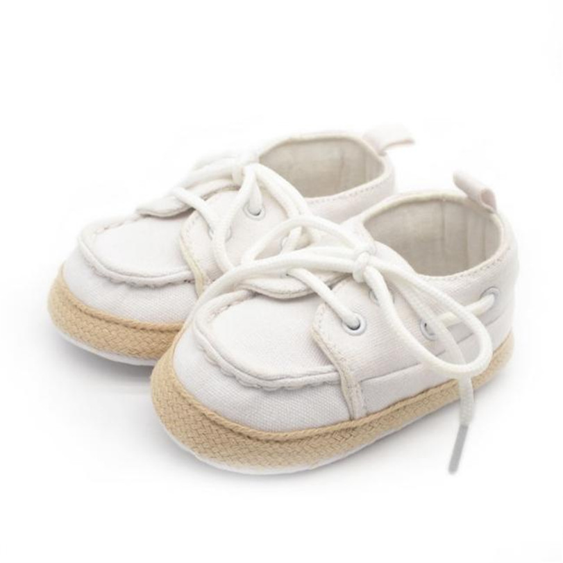 Fashion Spring Autumn Baby Shoes Solid Antiskid Toddlers Shoes Cute First Walkers Baby Boys LR3