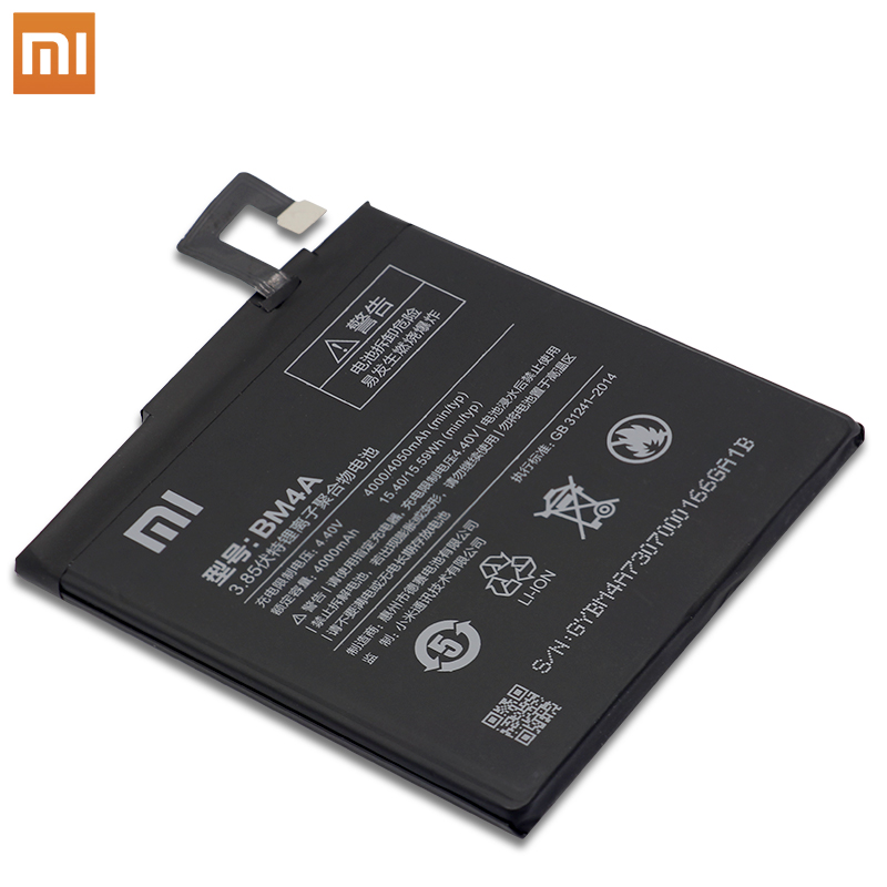 Image 3 - Xiao Mi Phone original Battery 4000mAh BM4A Phone Batteries for Xiaomi Hongmi Redmi Pro Battery+ToolS-in Mobile Phone Batteries from Cellphones & Telecommunications on