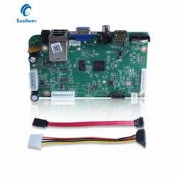 H.265 CCTV NVR Совета HDMI VGA Выход 8CH 4MP видео Вход CCTV видео плата рекордера ONVIF обнаружения движения XMEye APP