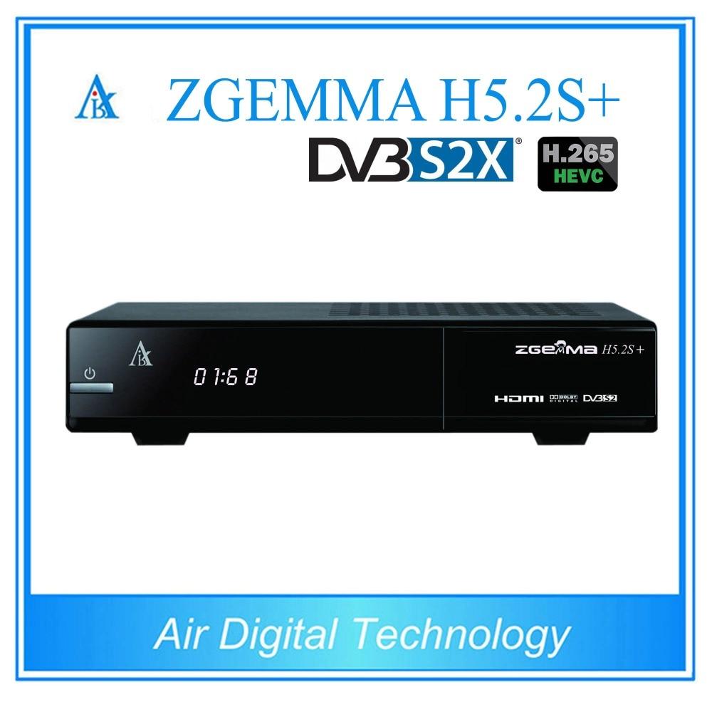 20 pcs/lot zgemma h5.2s+ DVB S2X satellite receiver DVB S2 + DVB S2X/S2 + DVB C/T2 1080p mobile dvb t2 car digital tv receiver real 2 antenna speed up to 160 180km h dvb t2 car tv tuner mpeg4 sd hd