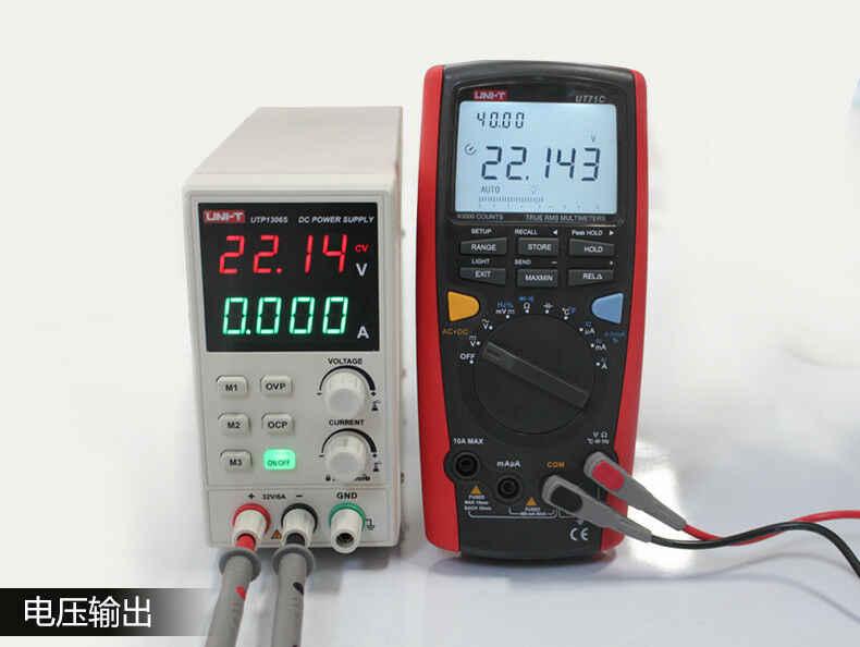 UNI-T UTP1306S regulowany zasilacz DC pojedynczy AC 32 V/6A 4 bity 220V wejście OVP
