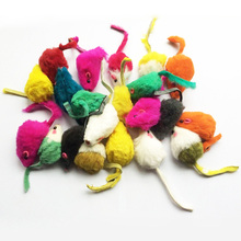 5 pcs/Set Colorful Mouse Shaped Cat Toy